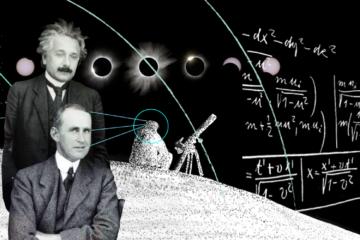 1919. Eddington corrobora la teoría general de la relatividad