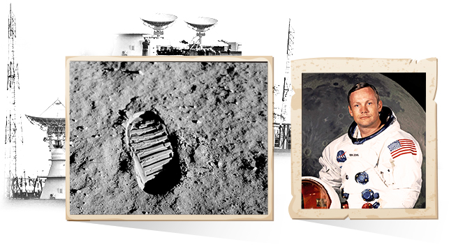 1969. La llegada del hombre a la Luna.