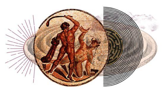 Teseo se ofrendó para ser sacrificado en las fauces de la bestia, y así colaborar con el fin de la terrible amenaza que el Minotauro significaba.