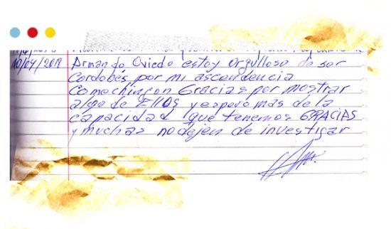 Ficha de evaluación de guía, visita guiada a 5.° grado de la Escuela Oscar Soto López, junio de 2018