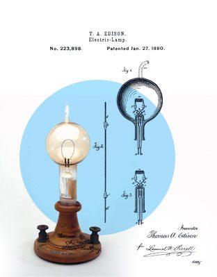 """iluminación eléctrica utilizando lo que se llama """"corriente continua"""""""