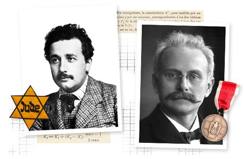 """""""La física judía y la física alemana"""""""