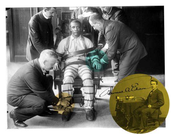 Edison perdió esta batalla dejando como herencia una máquina de matar que algunos gobiernos imaginaron como una forma prolija de aplicar la pena capital.