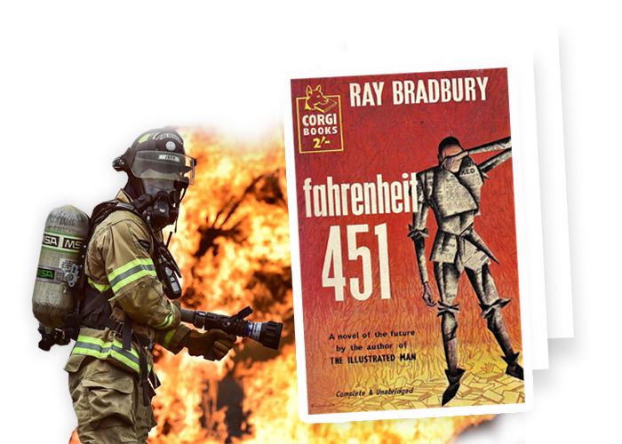 Fahrenheit 451 - Farenheit 451 Ray Bradbury libro
