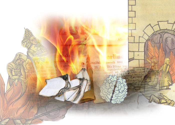 Fahrenheit 451 - 3Quema libros