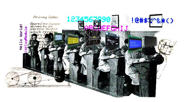 aula y robots