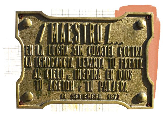 Placa Sarmiento