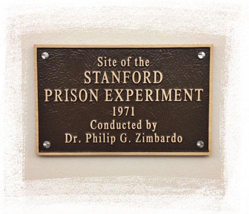placa de la cárcel, Universidad de Stanford