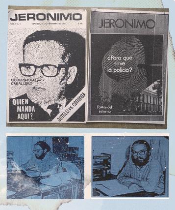 tapas de la revista Jerónimo